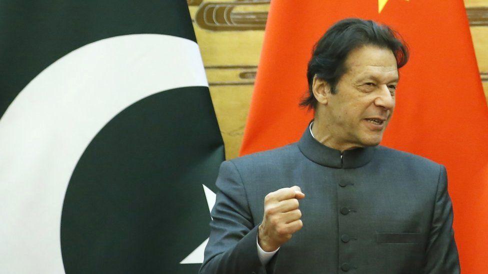 Pakistani Prime Minister Imran Khan visits Beijing, 3 November 2018