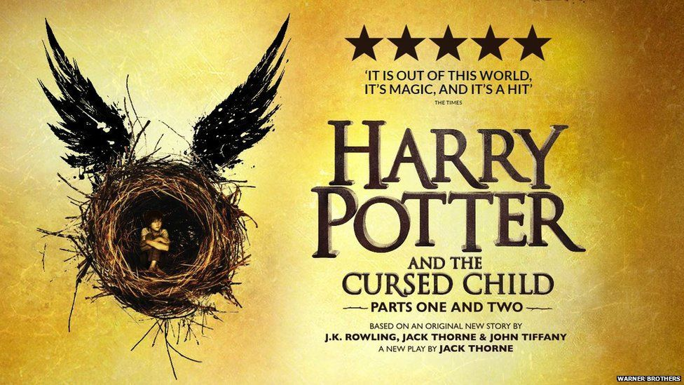 Harry Potter play poster