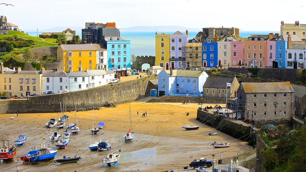 Tenby seafront