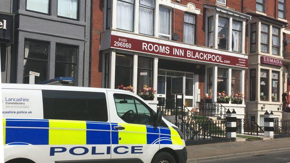 Toddler injured in Blackpool hotel window fall