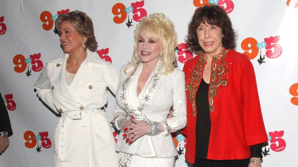Jane Fonda, Dolly Parton and Lily Tomlin