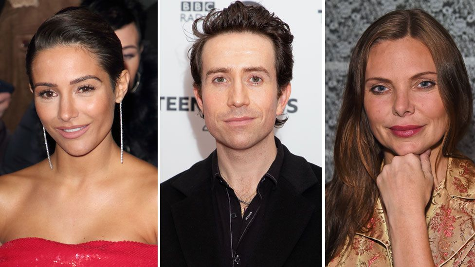 Frankie Bridge, Nick Grimshaw, Samantha Womack