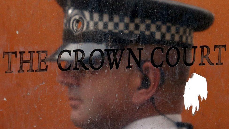 Crown Court signage