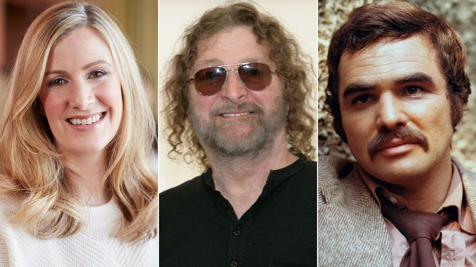 Rachael Bland, Chas Hodges and Burt Reynolds