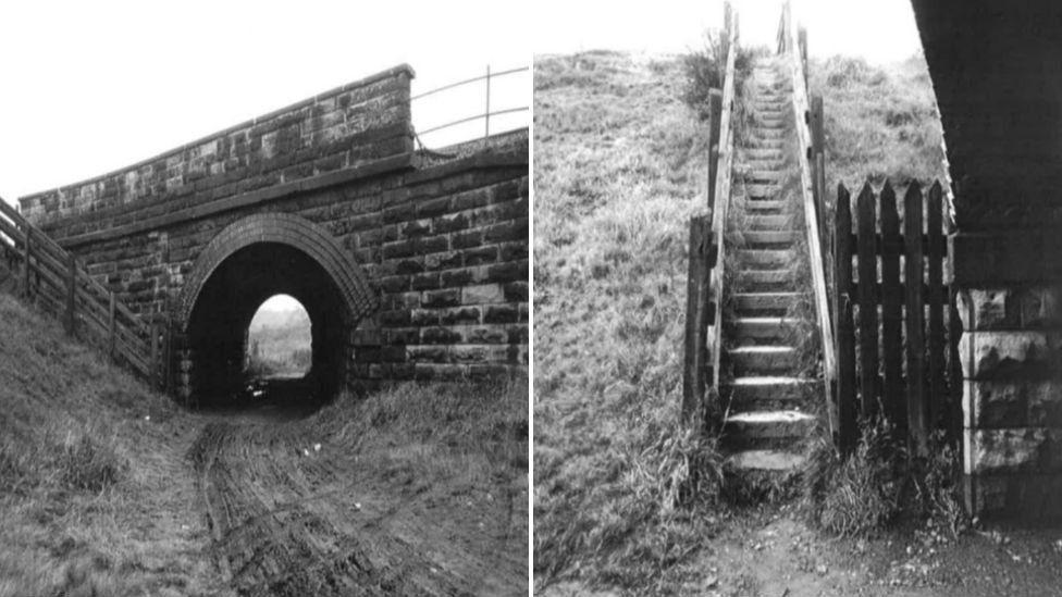 ABC railway steps, Wakefield