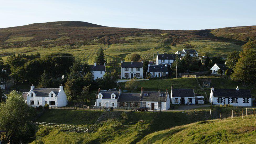 Where is Scotland's highest village?
