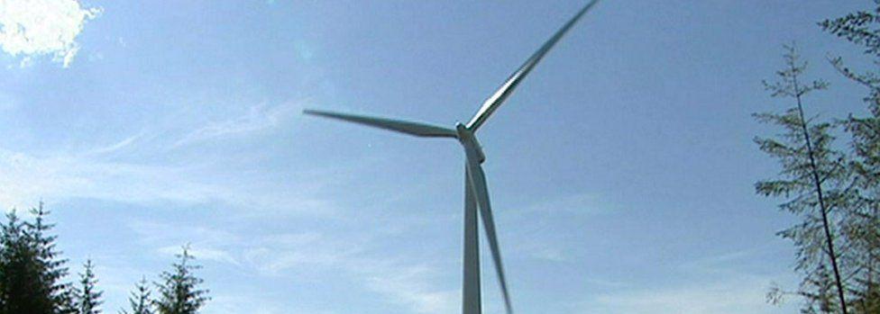 Whitelee wind turbine