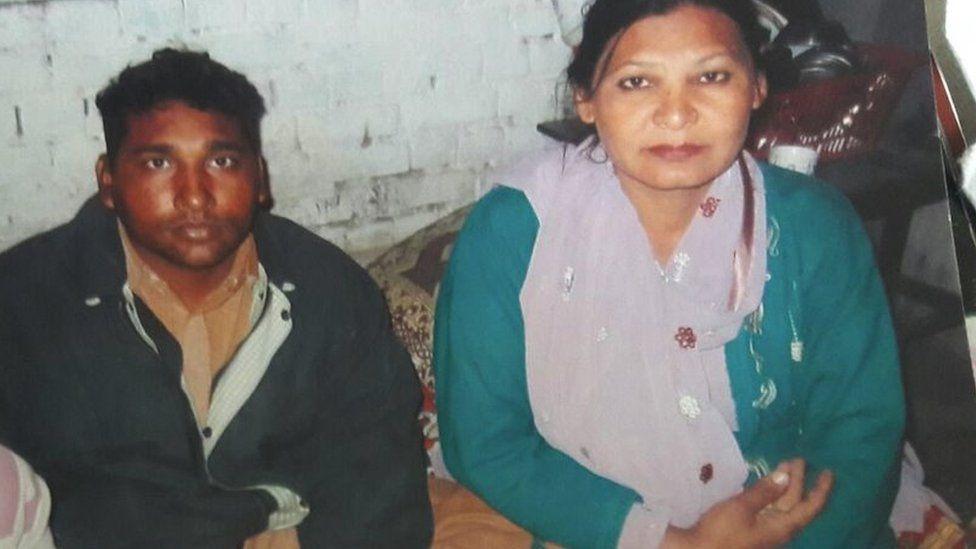 Shagufta Kausar and her husband Shafqat Emmanuel
