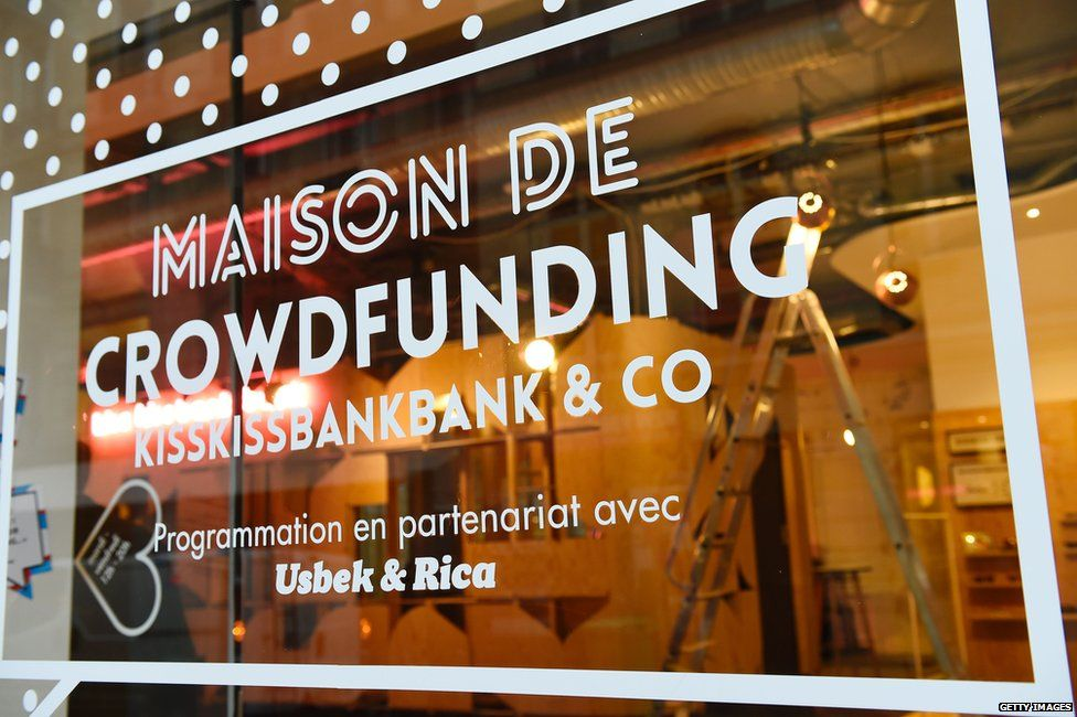 Crowdfunding office in France