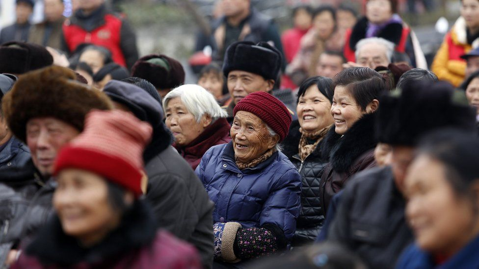 Chinese pensioners