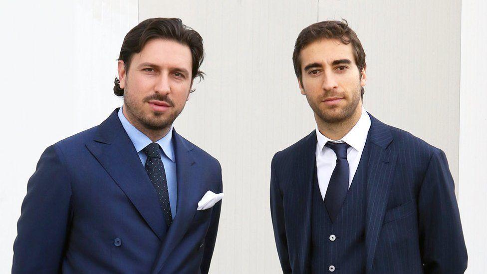Pasquale Granata and Mathieu Flamini (R)