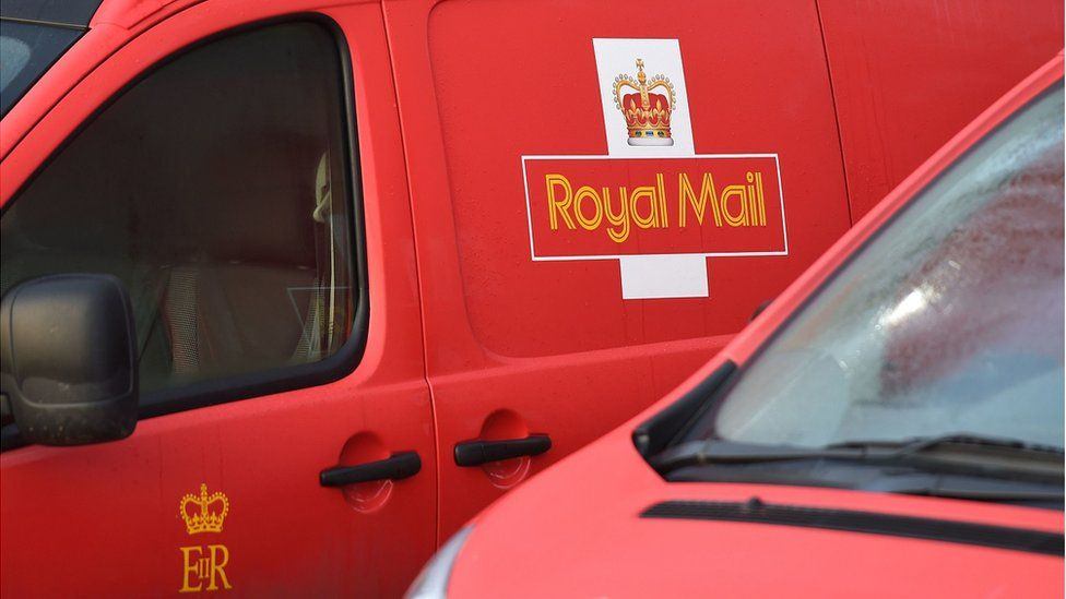 Generic image showing Royal Mail vans