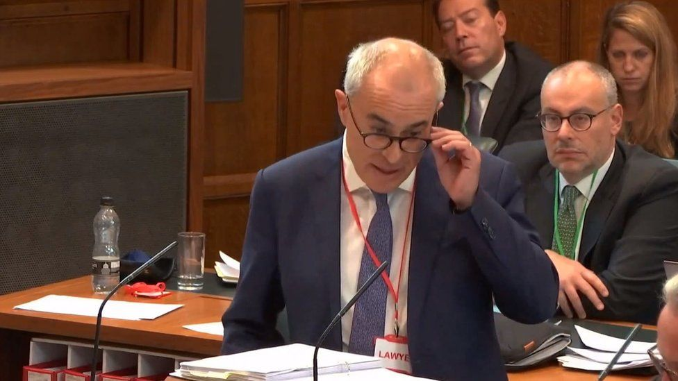 Lord Pannick at the Supreme Court