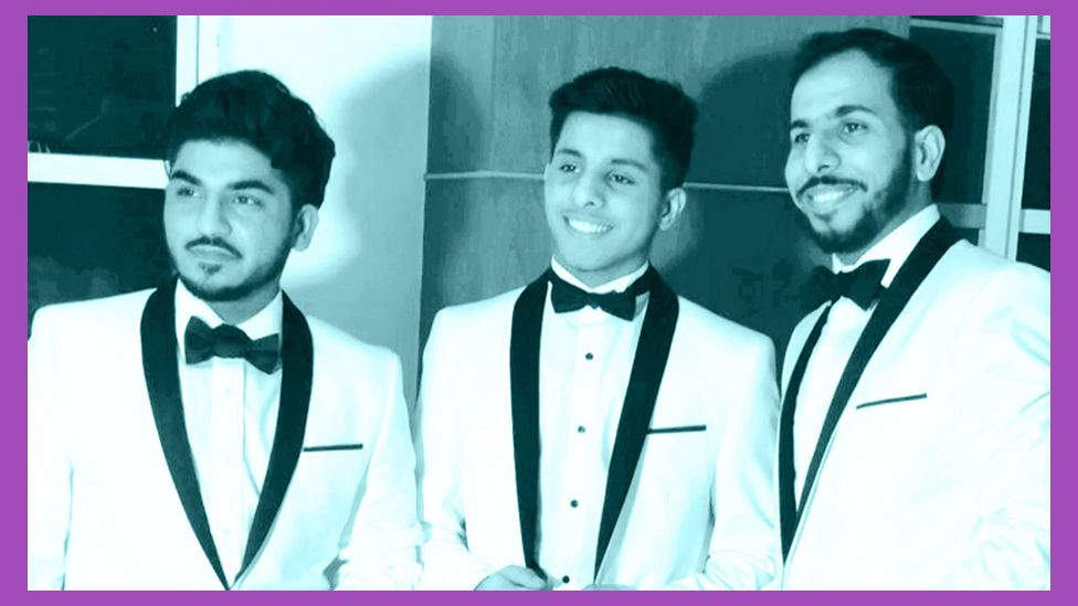 Zain Siddiqui and his two brothers