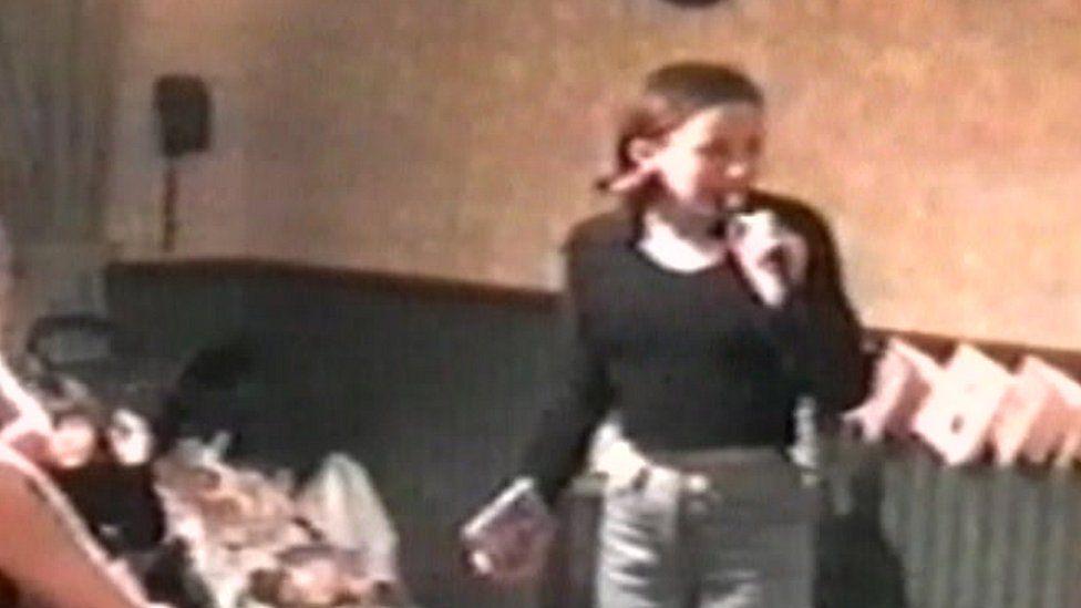 Sarah Benford in November 1998