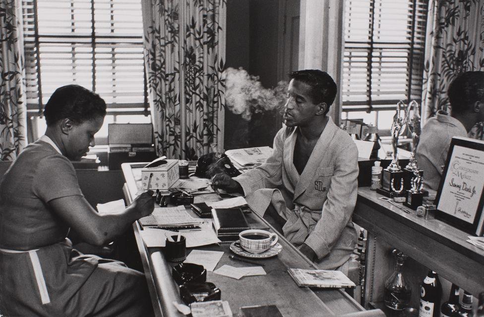 Sammy Davis Jr, 1956