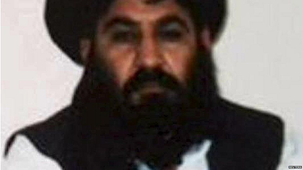 Undated image said to be of new Taliban leader Mullah Akhtar Mansour