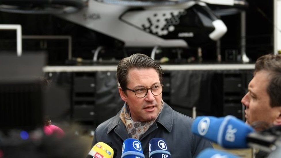 German Transport Minister Andreas Scheuer, 11 March 2019