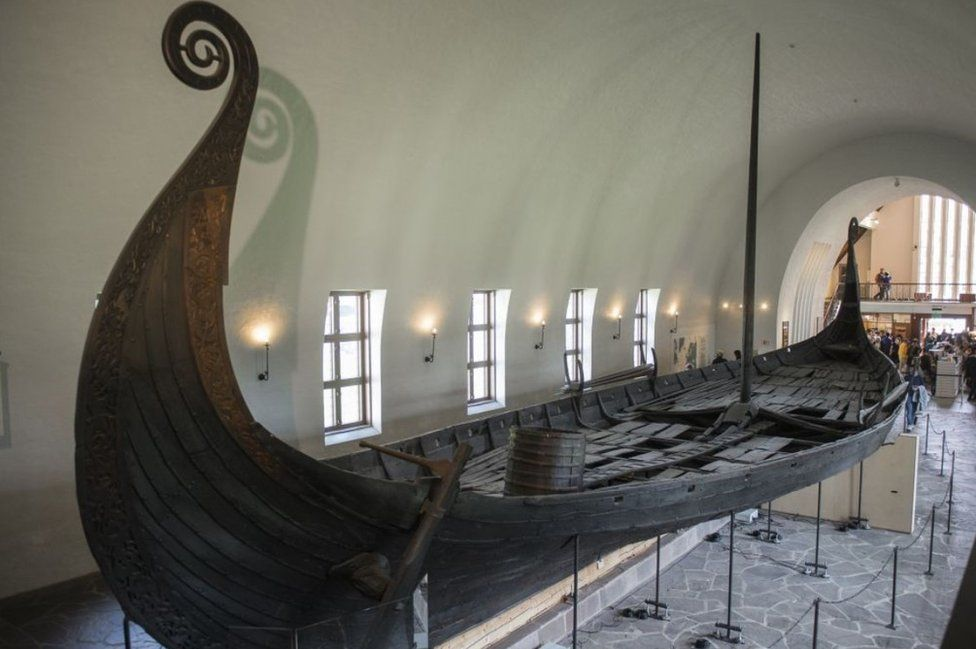 Oseberg ship, Viking Ship Museum, Oslo