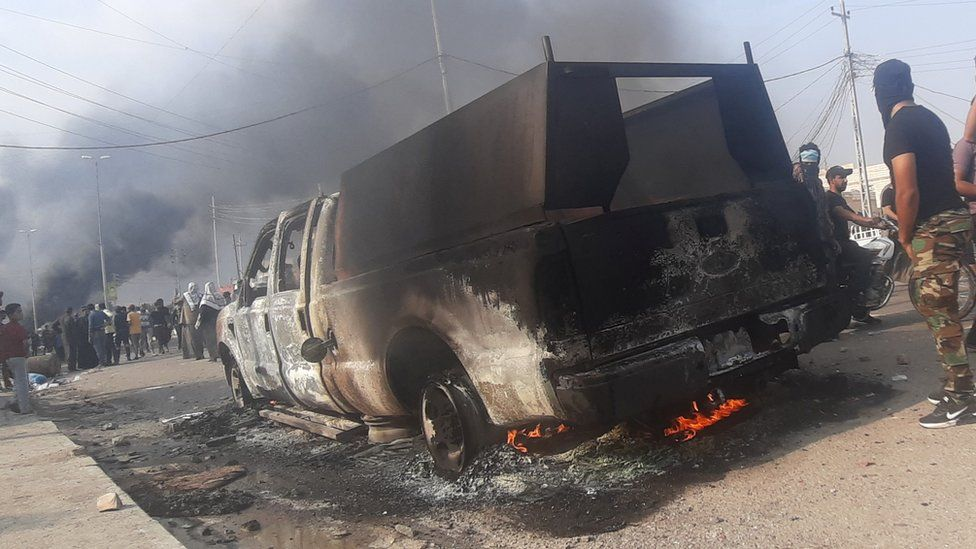 clashes in Nasiriya 29/11