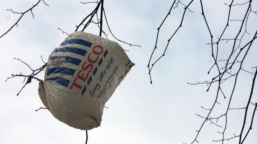 Tesco carrier bag