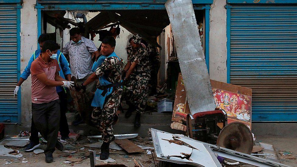 Nepal explosions kill four in capital Kathmandu