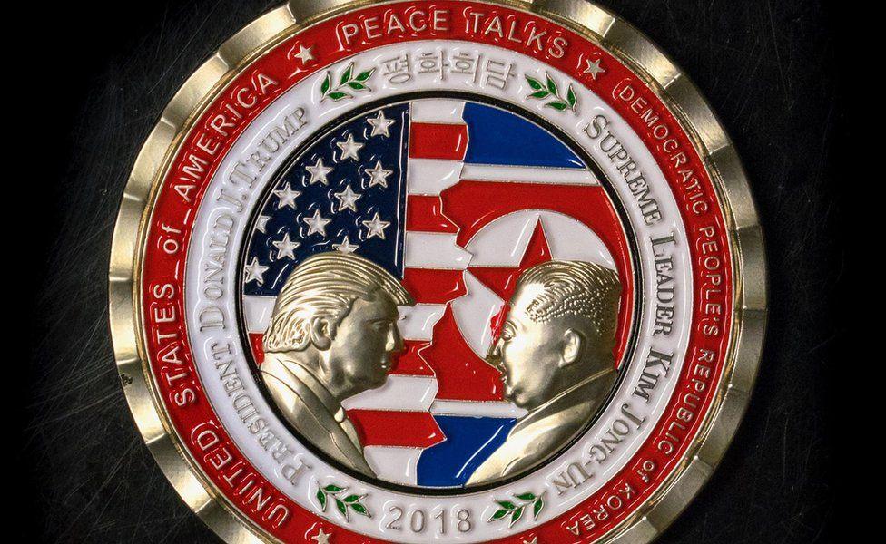 Trump-Kim coin