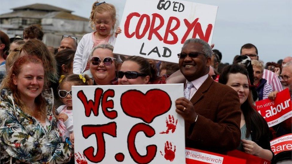 Jeremy Corbyn supporters