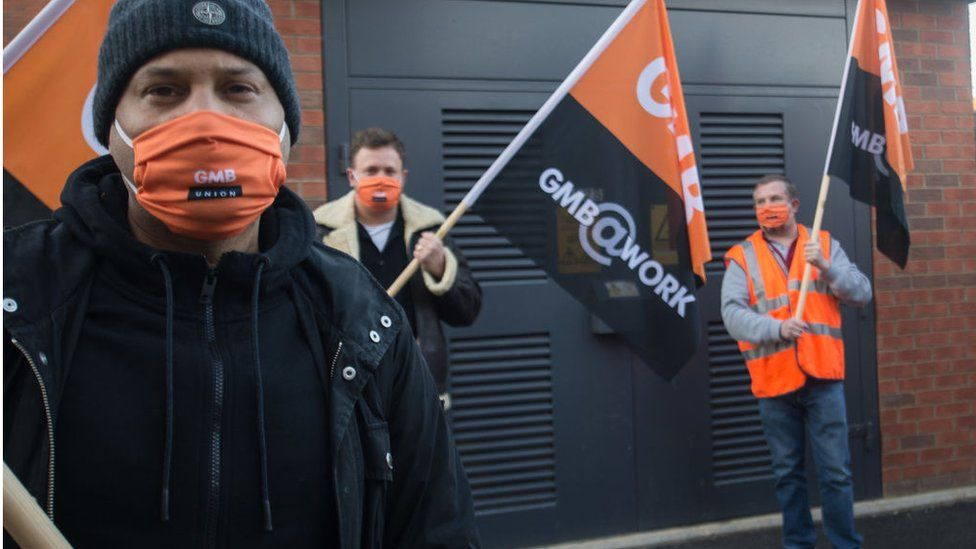 British Gas engineers on strike in January