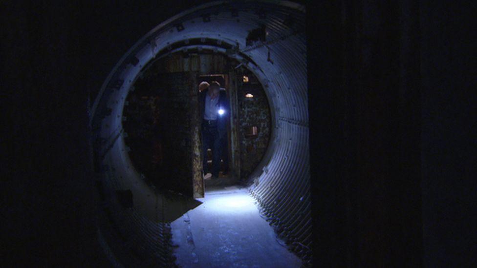 bunker entrance way