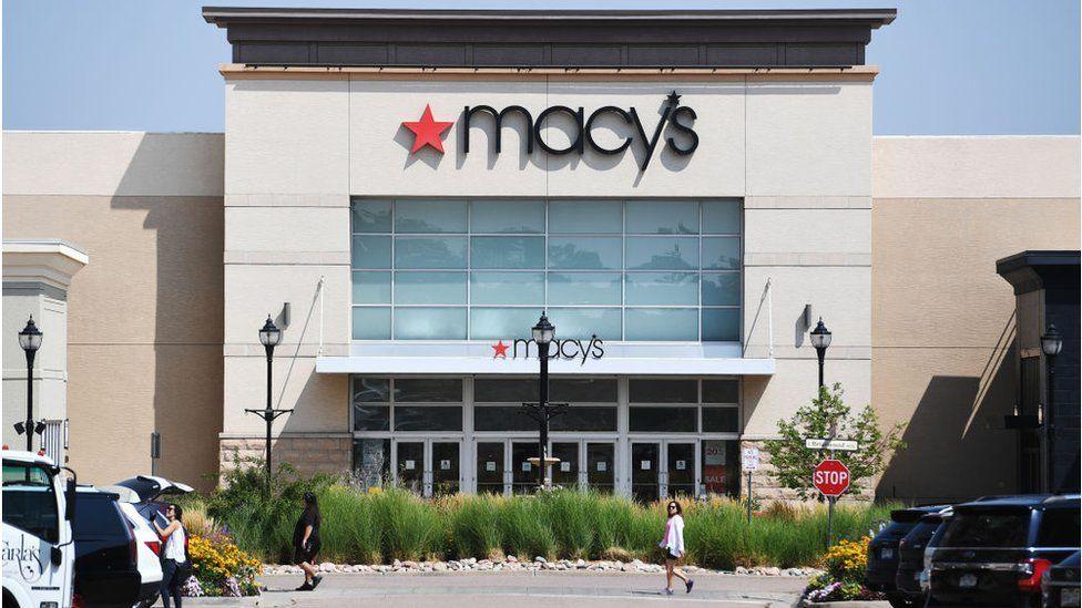 A Macy's shop