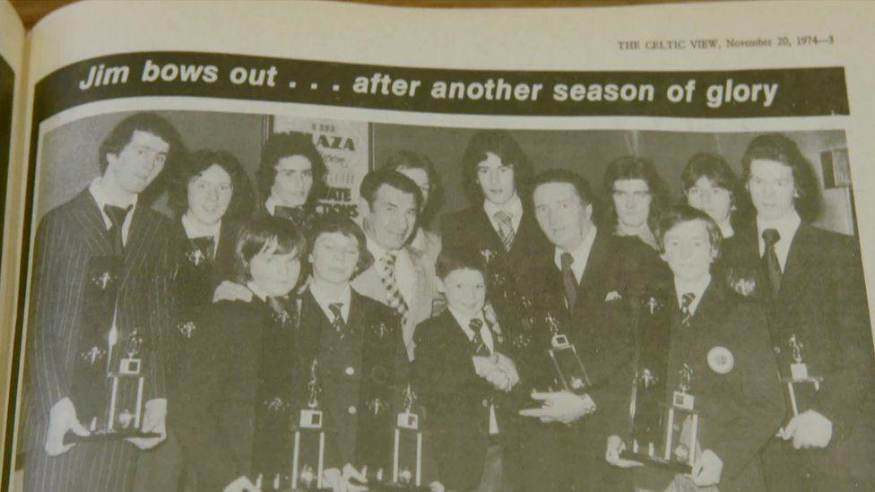 celtic view 1974 Jim bows out