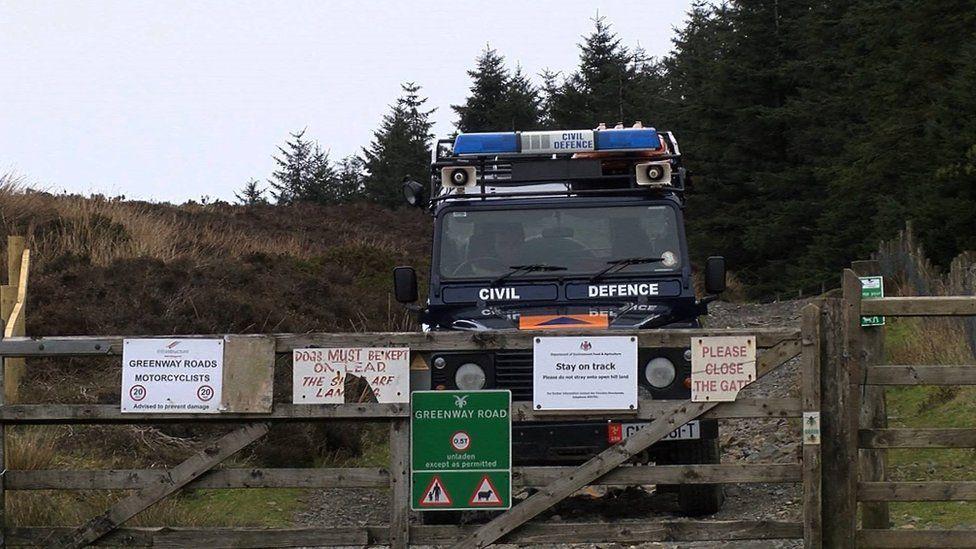 Civil Defence, Isle of Man