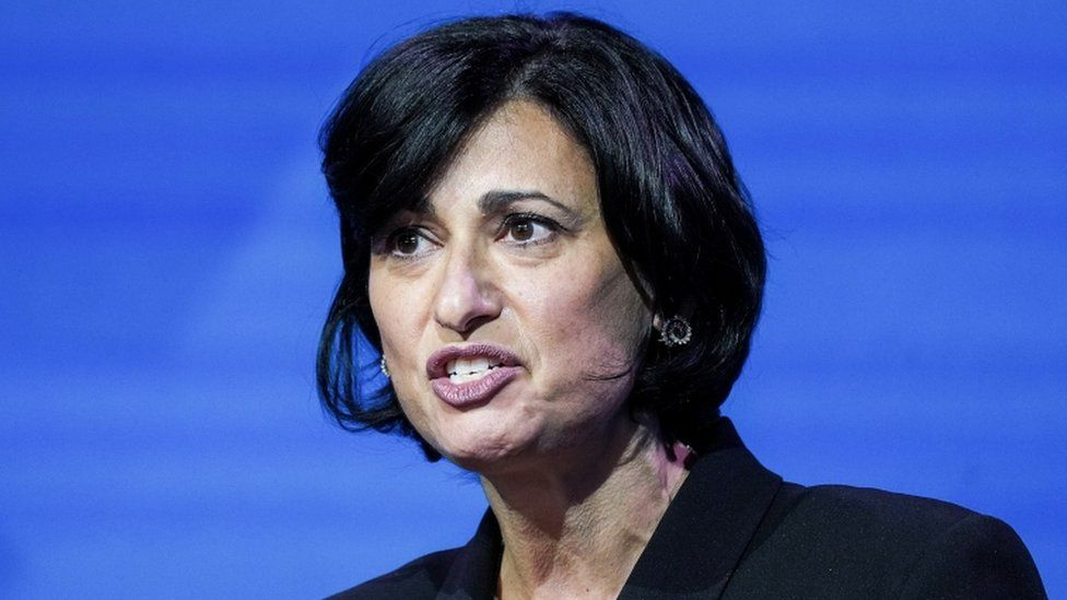 Dr. Rochelle Walensky, President Joe Biden's appointee to run the US Centers for Disease Control and Prevention (CDC)