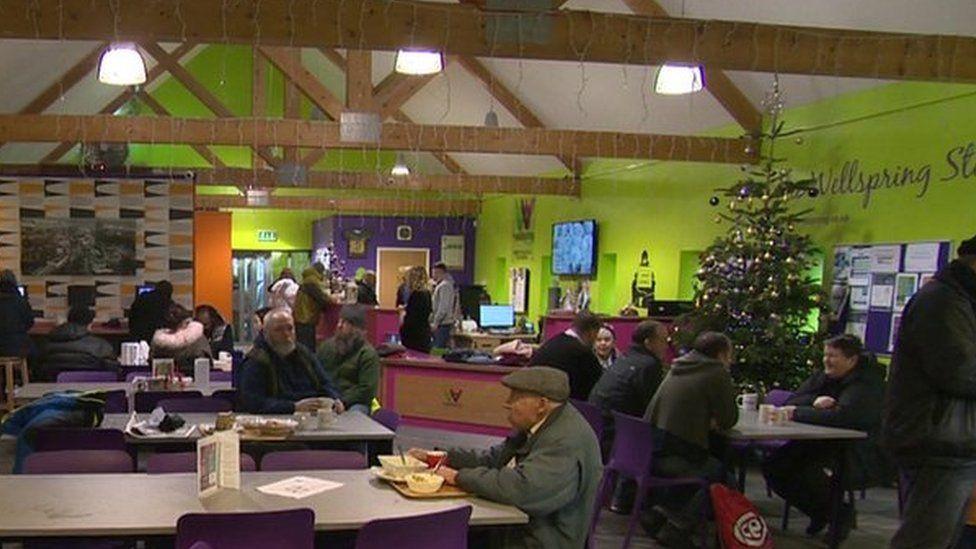 Stockport Wellspring canteen