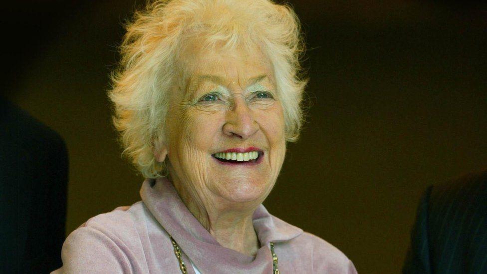 Winnie Ewing in 2005