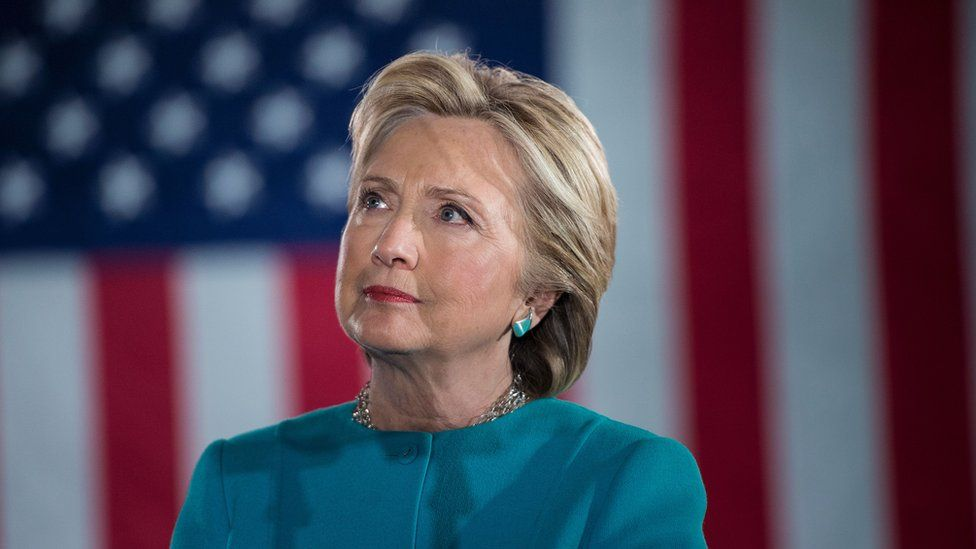 Hillary Clinton in Manchester New Hampshire