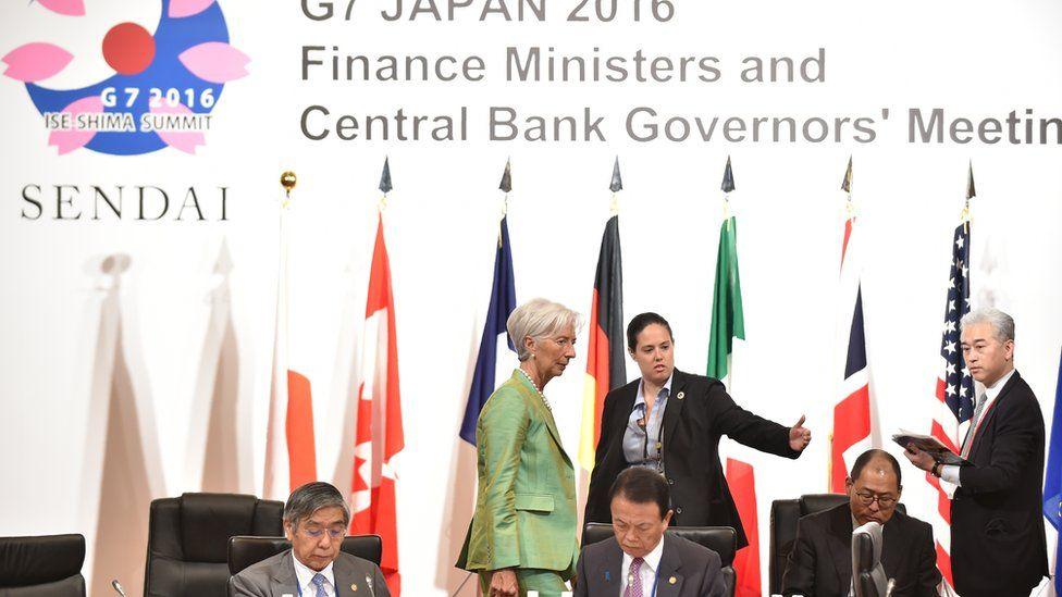 G7 finance minister meeting