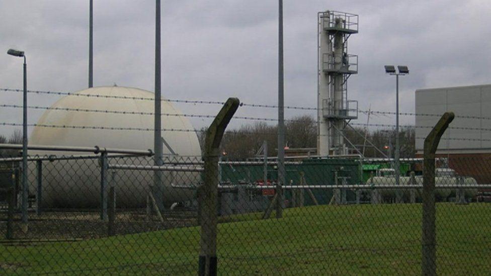 Thames Water sewage works
