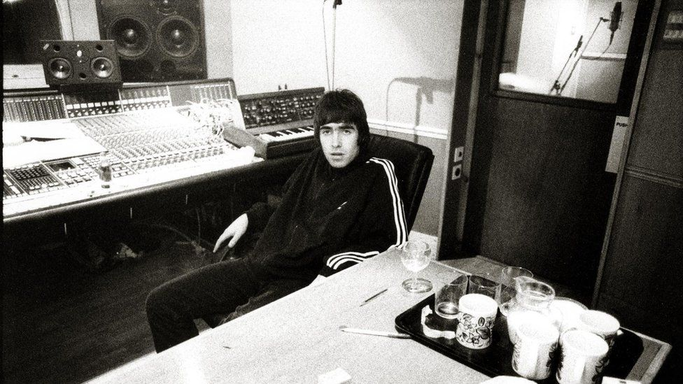 Liam Gallagher at Rockfield