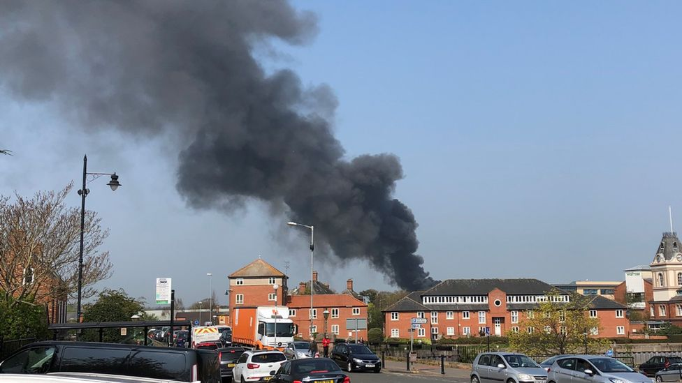 Newark smoke flume