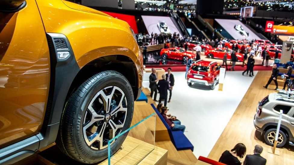 View of the second press day at the 89th Geneva International Motor Show on March 6, 2019.