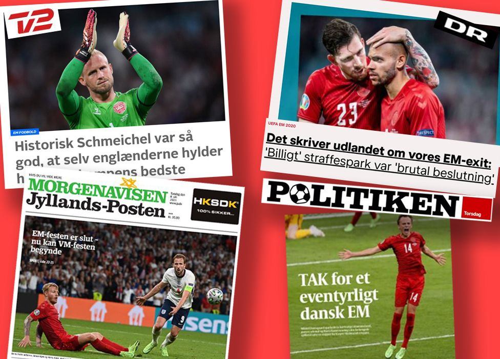 'The party's over' - Denmark reacts to Euros exit thumbnail