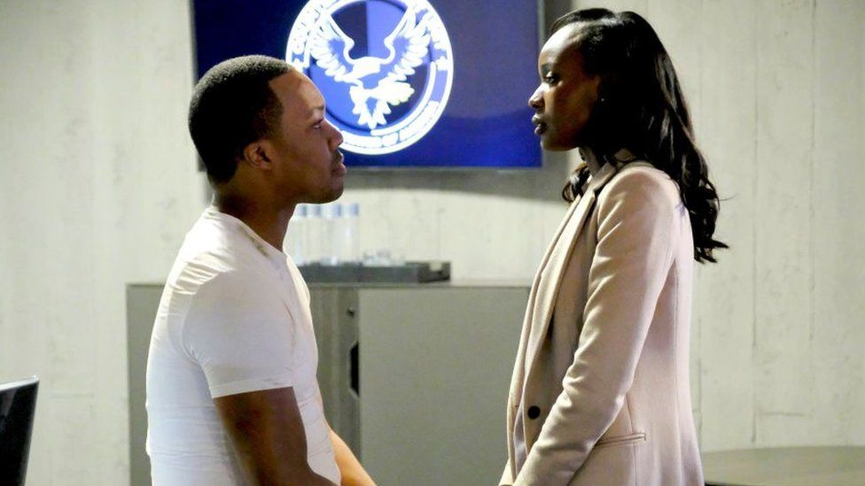 Corey Hawkins and Anna Diop in finale of 24: Legacy