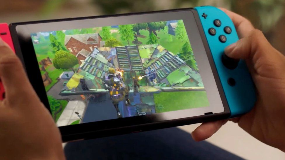 Fornite on Switch