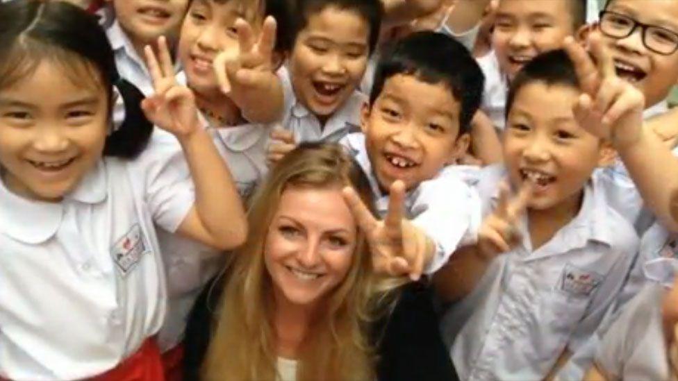 Stephanie Inglis in Vietnam