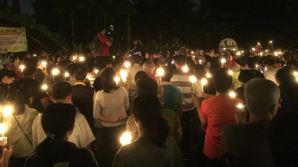 Pictures from a vigil calling for the return of Raymond Koh, held in Kuala Lumpur on 19 March 2017