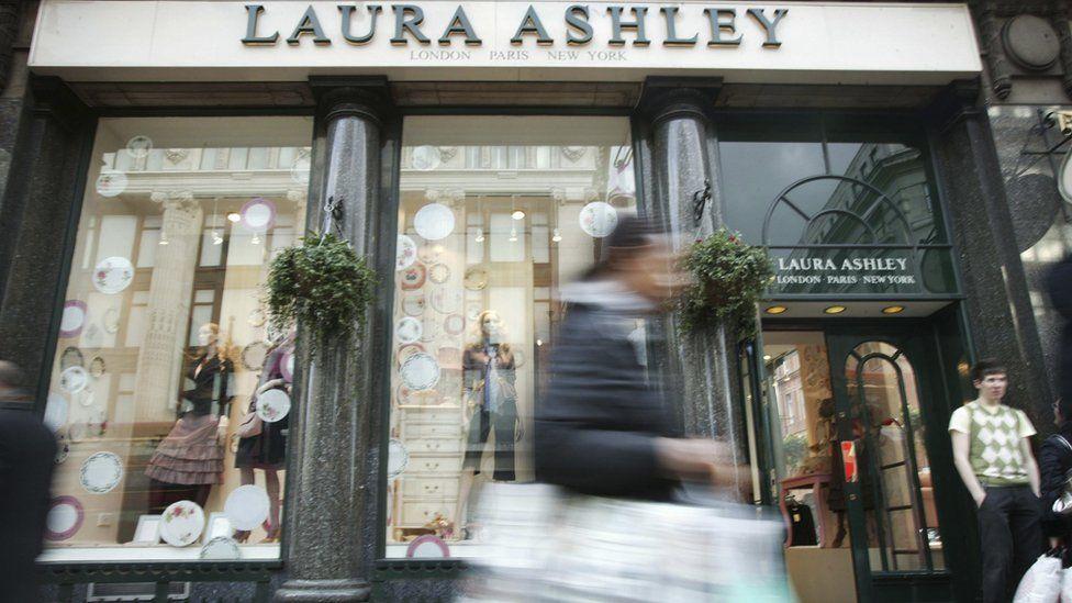 Laura Ashley shop