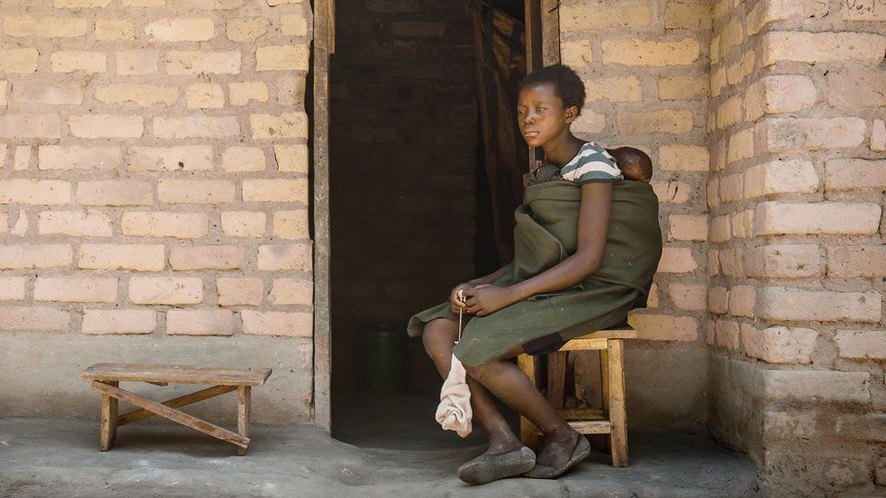 Young mother Zambia