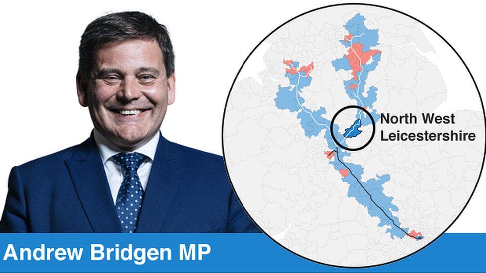 Andrew Bridgen and his constituency